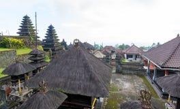 Tempio di Besakih in Bali, Indonesia Immagine Stock Libera da Diritti