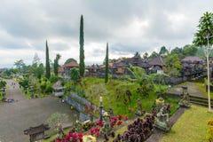 Tempio di Besakih in Bali, Indonesia Fotografia Stock Libera da Diritti