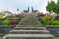 Tempio di Besakih in Bali, Indonesia Fotografia Stock