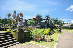 Tempio di Besakih in Bali orientale Immagine Stock Libera da Diritti