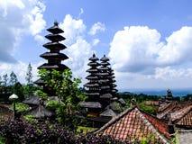 Tempio di Besakih, tempio indù di Bali, Indonesia immagine stock libera da diritti