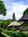 Tempio di Besakih, tempio indù di Bali, Indonesia immagini stock libere da diritti