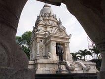 Tempio di bianco della maestà Fotografia Stock Libera da Diritti