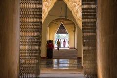 Tempio 1 di Birmania Fotografia Stock