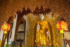 Tempio di birmano di Dhamikarama fotografie stock libere da diritti