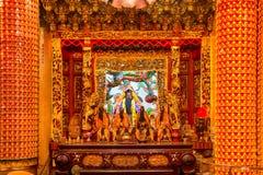 Tempio di Bishan in Taipei - Taiwan Fotografia Stock Libera da Diritti