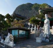 Tempio di Bomunsa, isola di Jeju, Corea del Sud Immagini Stock Libere da Diritti