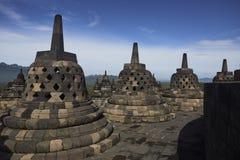 Tempio di Borobodur Fotografia Stock Libera da Diritti