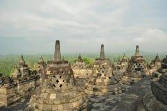 Tempio di Borobudur Fotografie Stock Libere da Diritti