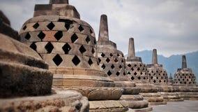 Tempio di Borobudur in Indonesia fotografia stock libera da diritti