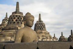 Tempio di Borobudur, Indonesia Fotografia Stock