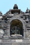 Tempio di Borobudur a Yogyakarta, Java, Indonesia Immagini Stock Libere da Diritti