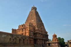 Tempio di Brihadeeswara, Thanjavur Fotografia Stock