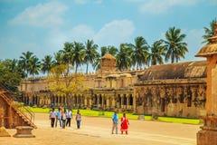 Tempio di Brihadeeswara in Thanjavur, Tamil Nadu, India Fotografia Stock Libera da Diritti