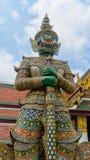 Tempio di Buddha del gigante a Bangkok Fotografia Stock