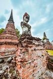 Tempio di Buddha Mahathat in Tailandia Fotografia Stock