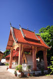 Tempio di Buddish intorno al Laos Fotografie Stock Libere da Diritti