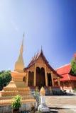 Tempio di Buddish intorno al Laos Immagine Stock Libera da Diritti