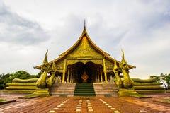 Tempio di buddismo Immagine Stock