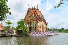 Tempio di buddismo sull'isola di Samui, Tailandia Fotografia Stock Libera da Diritti