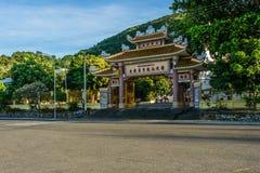 Tempio di Buddist nella città di Vungtau Fotografia Stock