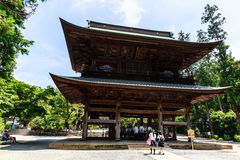 Tempio di Butsunichian a Kamakura Fotografia Stock Libera da Diritti