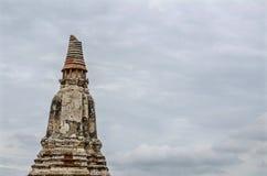 Tempio di Chaiwatthanaram a Ayutthaya, Tailandia Fotografie Stock Libere da Diritti
