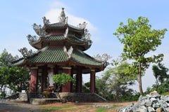 Tempio di Chau Thoi nella provincia di Binh Duong, Vietnam Fotografie Stock Libere da Diritti