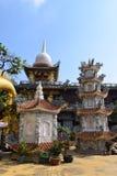 Tempio di Chau Thoi nella provincia di Binh Duong, Vietnam fotografia stock libera da diritti