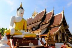 Tempio di Chiang Mai Thai Fotografia Stock Libera da Diritti