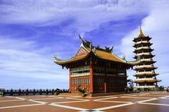 Tempio di Chin Swee su alta terra Fotografia Stock