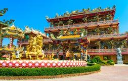 Tempio di cinese di Najasaataichue Fotografie Stock Libere da Diritti