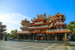 Tempio di cinese di Taiwan Fotografia Stock