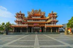 Tempio di cinese di Taiwan Fotografia Stock Libera da Diritti