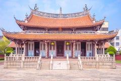 Tempio di Confucio a Changhua, Taiwan Fotografia Stock