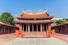Tempio di Confucio nel centro di Tainan fotografia stock libera da diritti