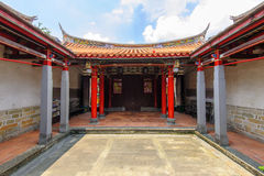 Tempio di Confucio nella nuova città di Taipei Fotografia Stock