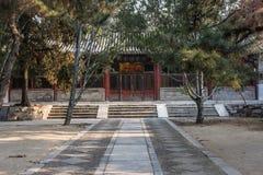 Tempio di Confucio di Pechino fotografia stock libera da diritti