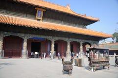 Tempio di Confucio in Qufu immagini stock libere da diritti