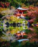 Tempio di Daigoji, Kyoto, Giappone immagini stock
