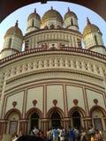 Tempio di Dakshineshwar Fotografia Stock