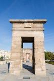 Tempio di Debod a Madrid, Spagna Fotografia Stock Libera da Diritti