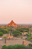 Tempio di Dhammayangyi Fotografia Stock Libera da Diritti