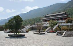 Tempio di Dongbashiluo, Jade Water Village, Lijiang, Cina Fotografie Stock Libere da Diritti