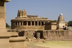 Tempio di Durga a Aihole Fotografie Stock Libere da Diritti