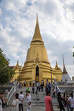 Tempio di Emerald Buddha (Wat Phra Kaew), Tailandia Immagine Stock Libera da Diritti