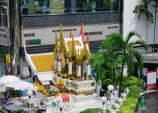 Tempio di Erawan a Bangkok, Tailandia Fotografie Stock
