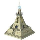 Tempio di fantasia Fotografia Stock