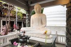 Tempio di Gangaramaya a Colombo Fotografia Stock Libera da Diritti