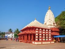 Tempio di Ganpatipule immagini stock